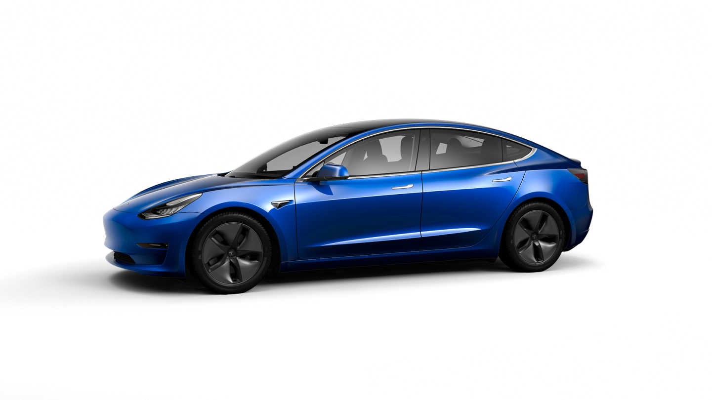 Tesla Model 3 LR AWD Blue